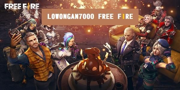 Lowongan7000 Free Fire