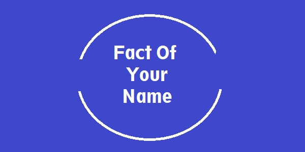Fact Of Your Name Apk