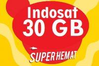 Indosat Gratis 30GB