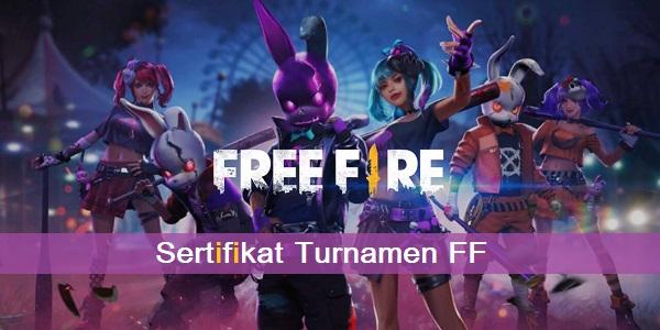 Sertifikat Turnamen FF