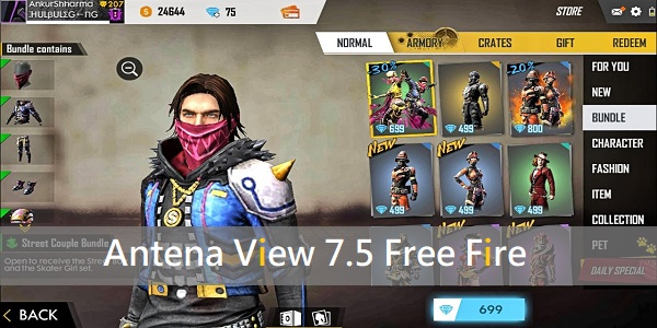 Antena View 7.5 Free Fire