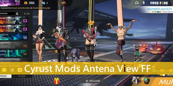 Cyrust Mods Antena View Free Fire