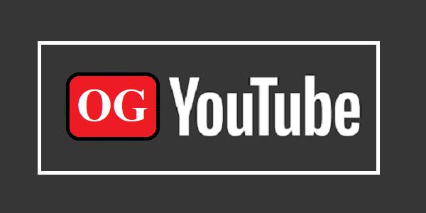 OG YouTube Apk Mod