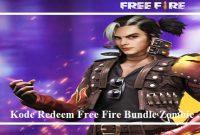 Kode Redeem Free Fire Bundle Zombie