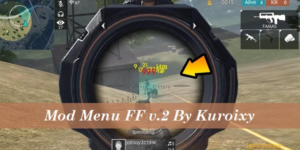 Mod Menu FF v.2 By Kuroixy