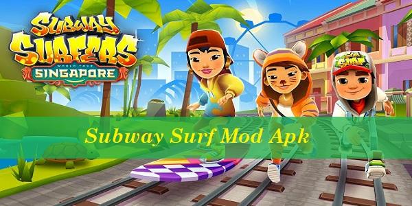 Subway Surf Mod Apk Semua Karakter Terbaru