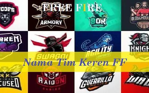 Nama Tim Keren FF