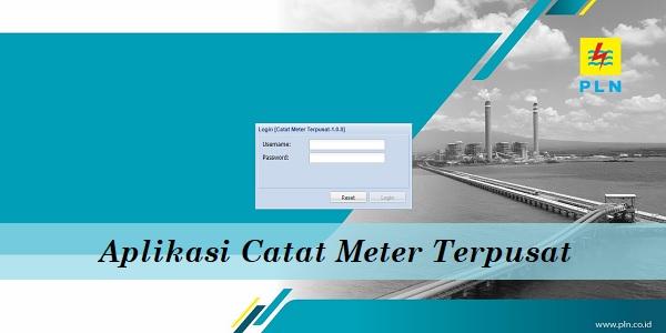 Aplikasi Catat Meter Terpusat
