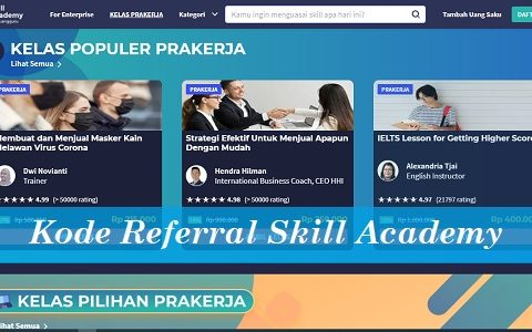 Kode Referral Skill Academy