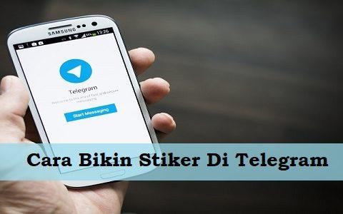 Cara Bikin Stiker Di Telegram