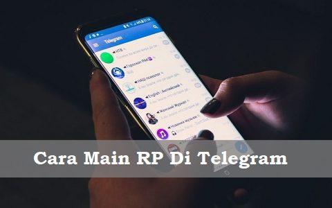 Cara Main RP Di Telegram Buat Pemula