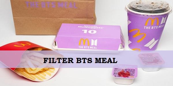 Filter BTS Meal Instagram Dan TikTok