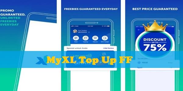 MyXL Top Up FF