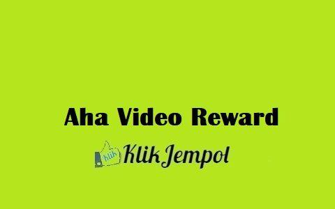 Aha Video Reward