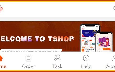 Aplikasi Tshop Penghasil Uang